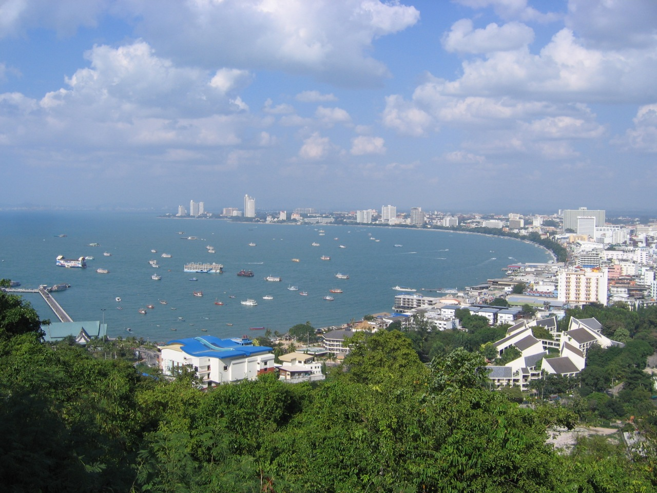 A Kai Tak Convention picture of Pattaya.