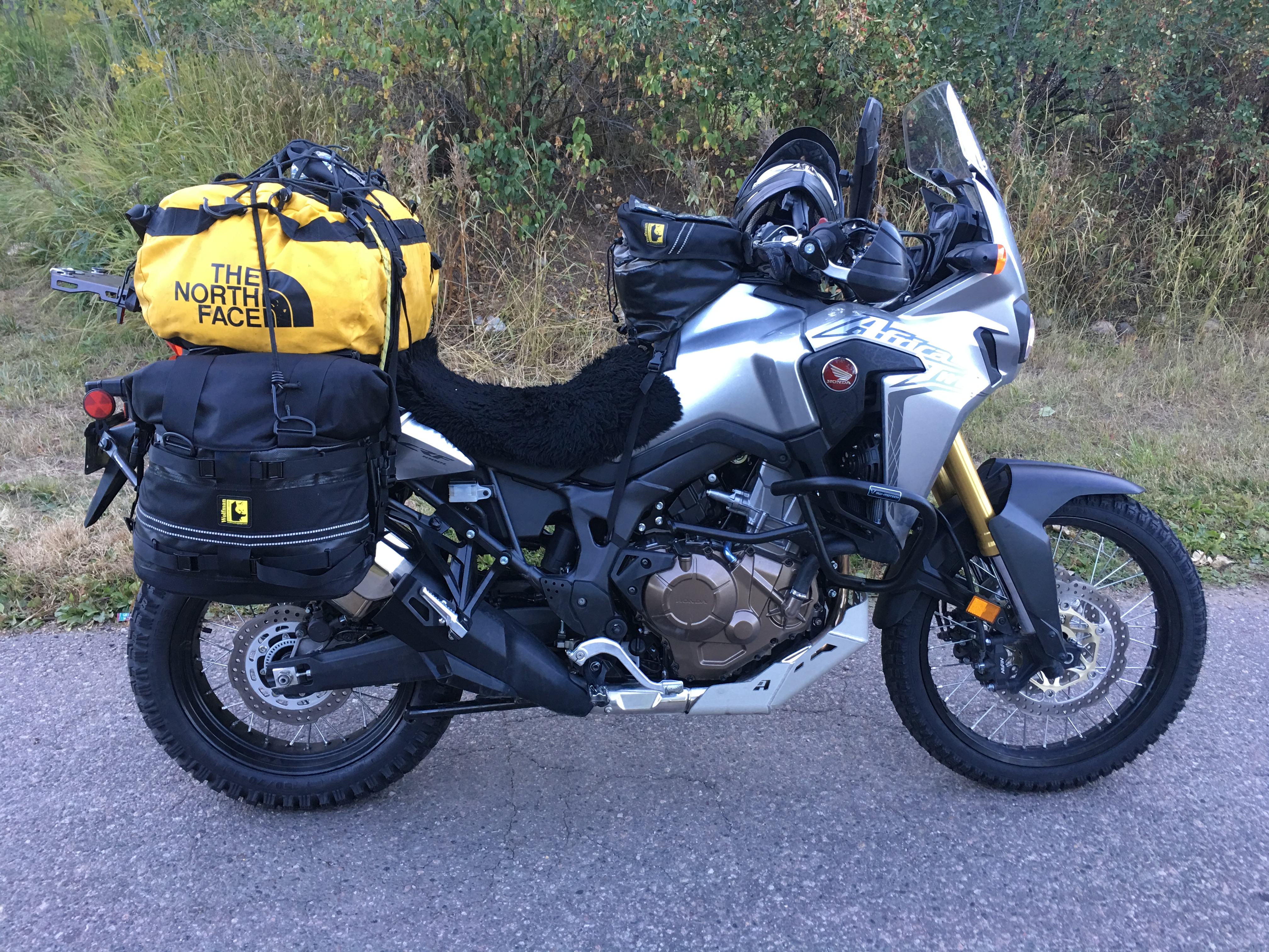 The Honda Africa Twin I Hired In Boulder, Colorado